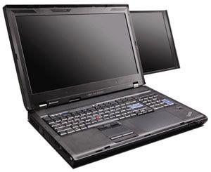 Lenovo Dual Screen Laptop