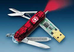 Swiss Army Knife With USB Drive