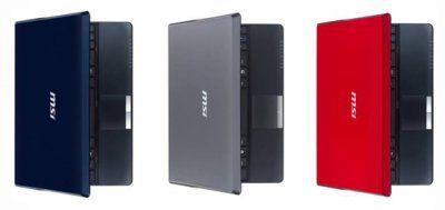 MSI U123 series netbook