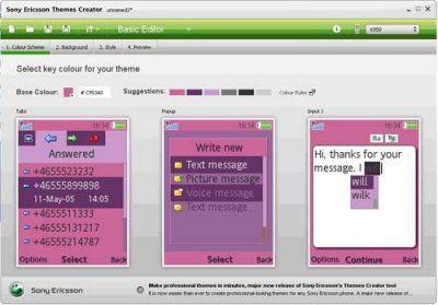 Sony Ericsson Themes Creator 4.0