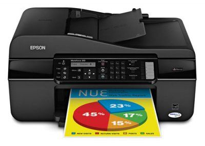 Epson WorkForce 310 Ink Jet printer With Ethernet
