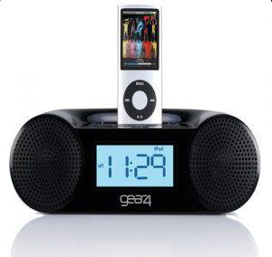 Gear4 CRG-60: Newest alarm clock radio for iPod