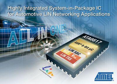 Atmel-SiP-LIN-IC