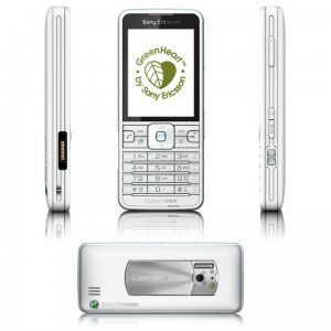 Sony Ericsson C901 GreanHeart phone
