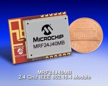 Microchip-IEEE-102-15-4-MRF24J40MB