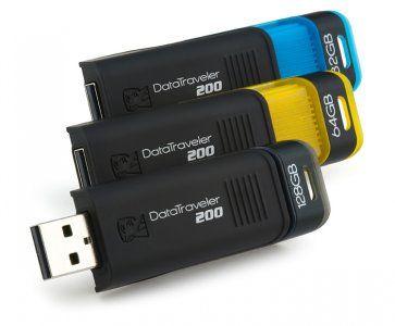 Kingston DataTraveler 200 USB Flash Drive