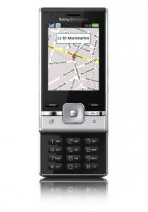 Sony Ericsson T715 slider phone