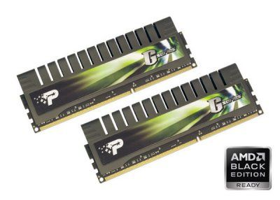 Patriot launches AMD Black Edition Ready DDR3 G Series