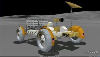 Apollo 16 Rover 3D Model