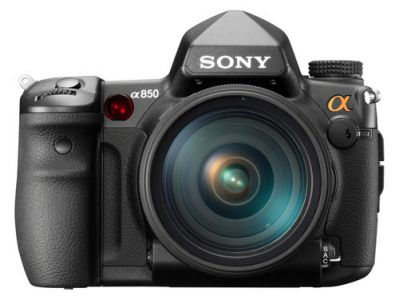 Sony a850 front